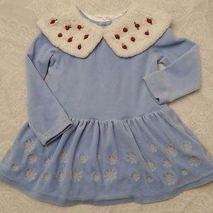 Disney store Frozen light blue dress